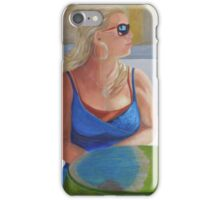 Waiting Beauty iPhone Case/Skin