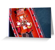 Prepare to hoist! Greeting Card