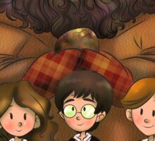 Harry Potter and Friends Sticker