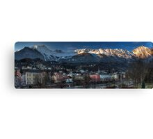 Nordkette - guarding mountains Canvas Print