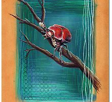 Bug Series # 3 - Beetle by Alex Tebb