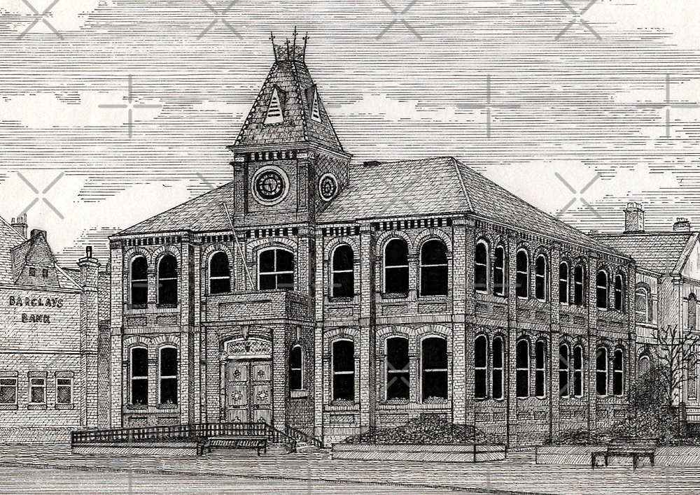 168 - BLYTH LIBRARY - 2nd VERSION - DAVE EDWARDS - INK - 1990 by BLYTHART