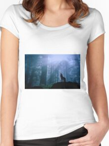 Howling Women's Fitted Scoop T-Shirt