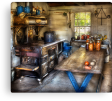 Home Country Kitchen Canvas Print