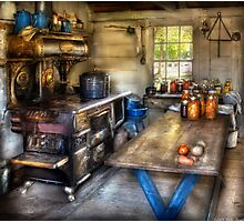 Home Country Kitchen Photographic Print