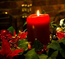 Candle Christmas by Don Stott
