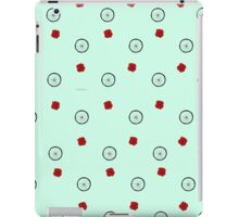 Tattoo Flash Roses & Bicycle Wheels iPad Case/Skin