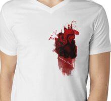Take My Heart Mens V-Neck T-Shirt