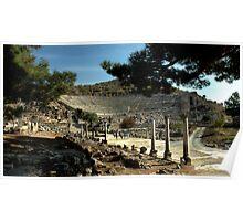 AMPHITHEATER at EPHESUS, TURKEY Poster