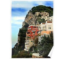 ANACAPRI HILLSIDE RESIDENCES, ITALY Poster