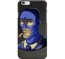 Blue Spy! Print iPhone Case/Skin
