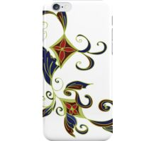 Abstract Floral Ornament iPhone Case/Skin