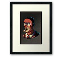 Red Spy! Print Framed Print