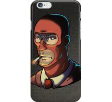 Red Spy! Print iPhone Case/Skin