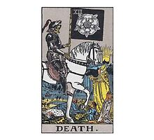 Tarot card - Death by kaliyuga