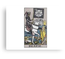 Tarot card - Death Metal Print