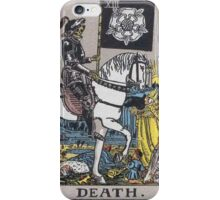 Tarot card - Death iPhone Case/Skin