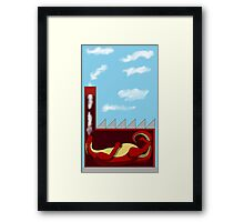 The Dragon's Cloud Factory Framed Print