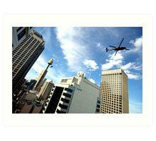 Sydney from above Art Print