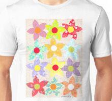 DECORATIVE FLOWERS Unisex T-Shirt