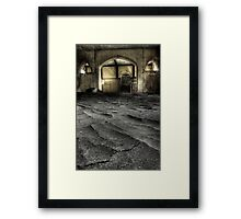 Mountain Range Framed Print