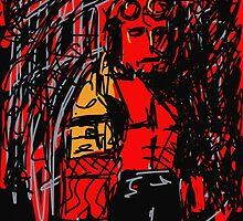 Hellboy by rimadi