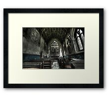 Into the Chapel Framed Print