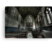 Into the Chapel Canvas Print