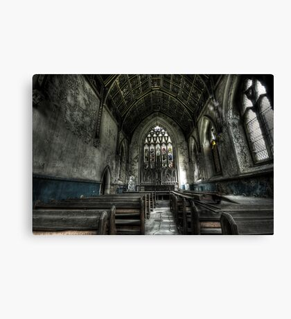 Into the Chapel Canvas Print