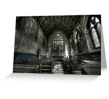 Into the Chapel Greeting Card