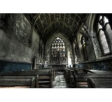 Into the Chapel Photographic Print