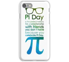 pi day 3 iPhone Case/Skin