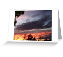 Rising to a Dramatic Sky Greeting Card