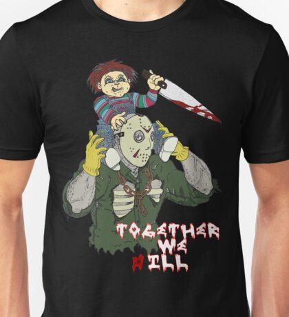 Chucky N Jason - Together We iLL Unisex T-Shirt