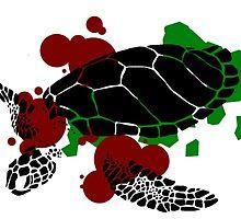 Hawksbill Sea Turtle by Staceylala
