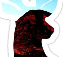 Mountain Deer Part 2 Sticker