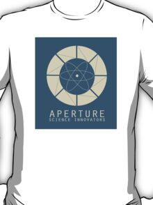 Aperture Science Old Logo With Text T-Shirt