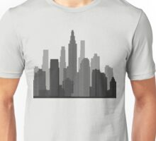 Downtown Grey Unisex T-Shirt