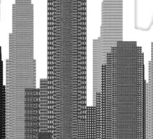 Downtown Grey Sticker