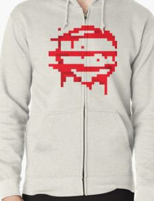 Hotline Miami: 50 Blessings logo Zipped Hoodie