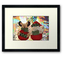 waiting for Christmas Eve Framed Print