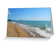 Life's a Beach Greeting Card