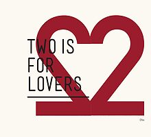 2 IS FOR LOVERS - TYPOGRAPHY EDITION - DIN #2 by Gaia Scaduto Cillari