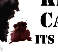 keep calm its a pit bull not a freakin shark Sticker