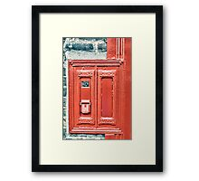 The Stamp Machine Framed Print