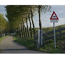 dutch landscape Photographic Print