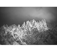 The Snowy Peaks Photographic Print