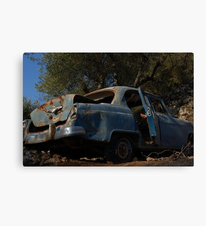 Greek Driving Canvas Print