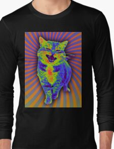 Psychedelic Kitty (Remaster) Long Sleeve T-Shirt