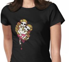 Addicted. Womens Fitted T-Shirt